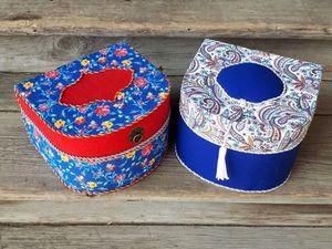 Making a Box for Needlework at Home. Livemaster - handmade