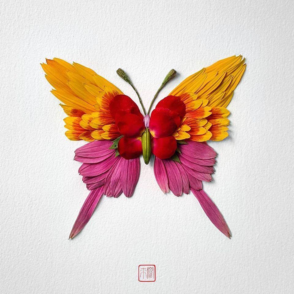 Petal Magic: Unusual Compositions by Raku Inoue, фото № 15