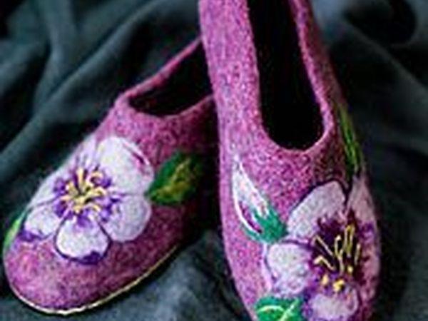 Мастер класс по валянию домашней обуви. Три изделия за один день. | Ярмарка Мастеров - ручная работа, handmade