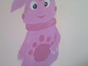 Ваня делает художественные заплаты в детском саду). Ярмарка Мастеров - ручная работа, handmade.