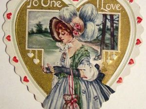 К дню святого Валентина. Ярмарка Мастеров - ручная работа, handmade.