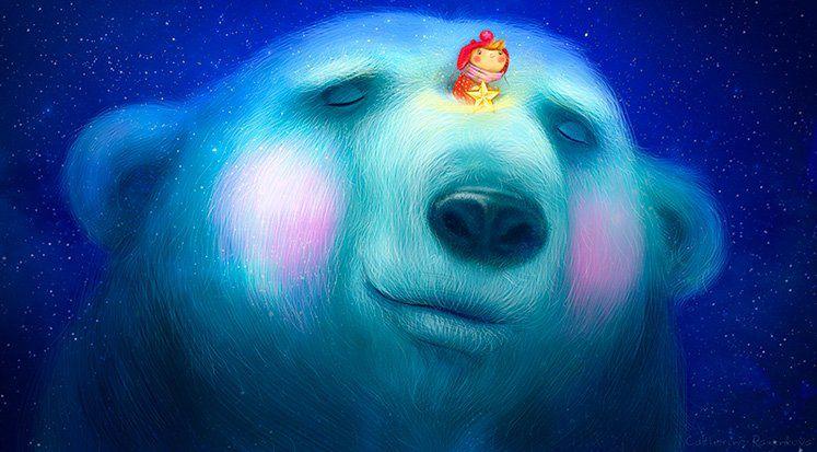 белый медведь, разинькова