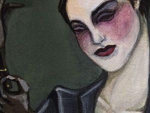 В моей голове снова Лаура... | Ярмарка Мастеров - ручная работа, handmade