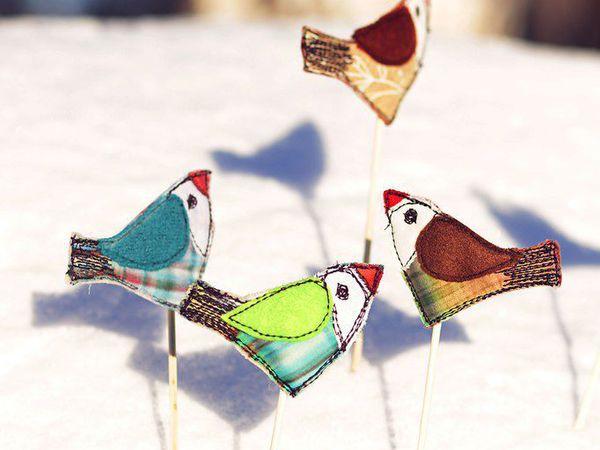 Готовимся к Масленице, или Как сшить птичек к празднику с детьми
