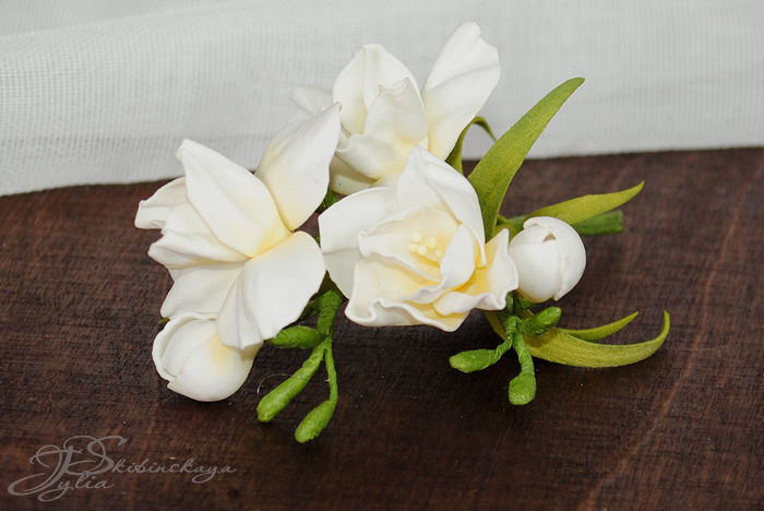 фоам, весенние цветы