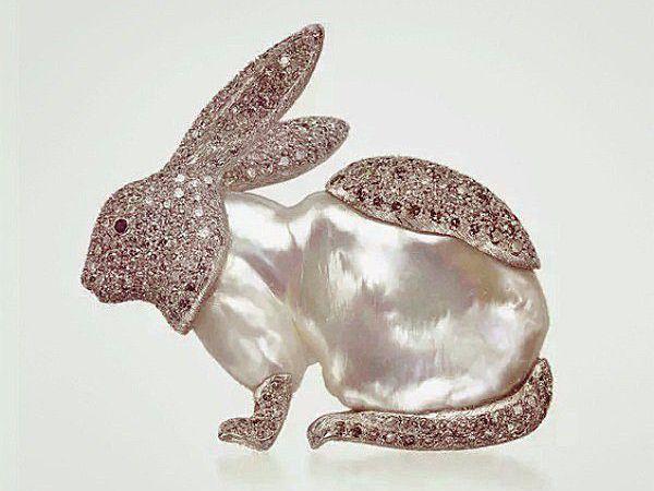 Зайки в бриллиантах — излишество или необходимость? Животные в ювелирном искусстве | Ярмарка Мастеров - ручная работа, handmade