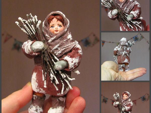 МК Елочная игрушка из ваты   Ярмарка Мастеров - ручная работа, handmade