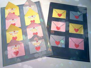Делаем объемную открытку с конвертами-сюрпризами. Ярмарка Мастеров - ручная работа, handmade.