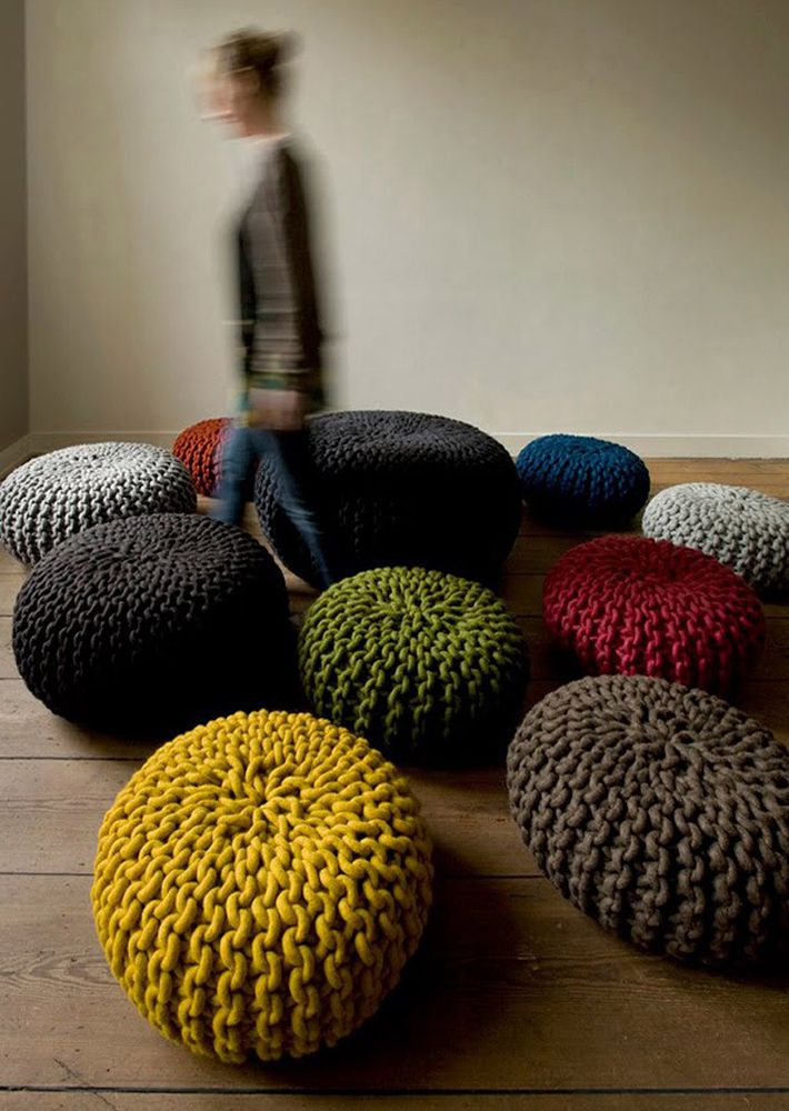 Гигантские нитки для вязания