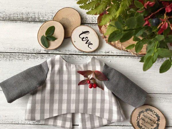 Шьем жакетик на подкладке для мишки Тедди | Ярмарка Мастеров - ручная работа, handmade