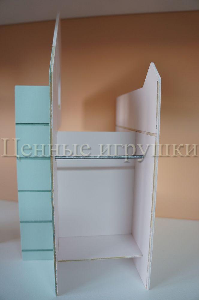 Мастер класс по сборке и оформлению кроватки домика., фото № 11