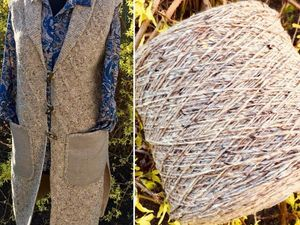 Пример работы из пряжи Твид. Ярмарка Мастеров - ручная работа, handmade.