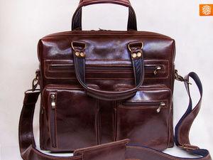 Готовая сумка Дивижн со скидкой! Отличный подарок на 23 февраля.. Ярмарка Мастеров - ручная работа, handmade.