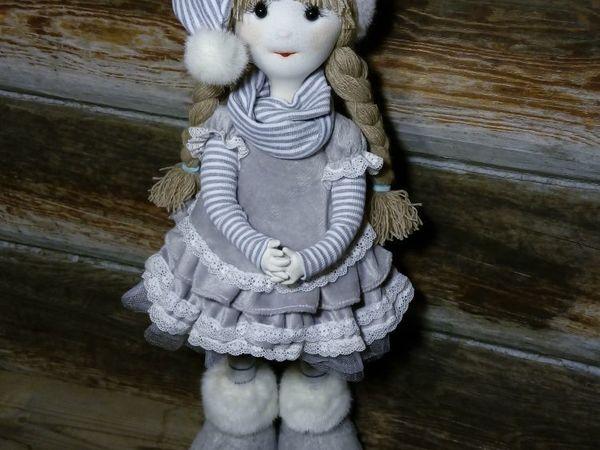 Изготавливаем каркасную куклу «Снежное Облачко» | Ярмарка Мастеров - ручная работа, handmade