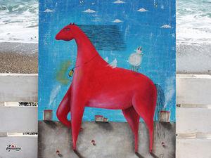 Мой любимый Красный конь.. Ярмарка Мастеров - ручная работа, handmade.