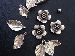 К 8 Марта - цветочно-серебряные скидки до 30% | Ярмарка Мастеров - ручная работа, handmade