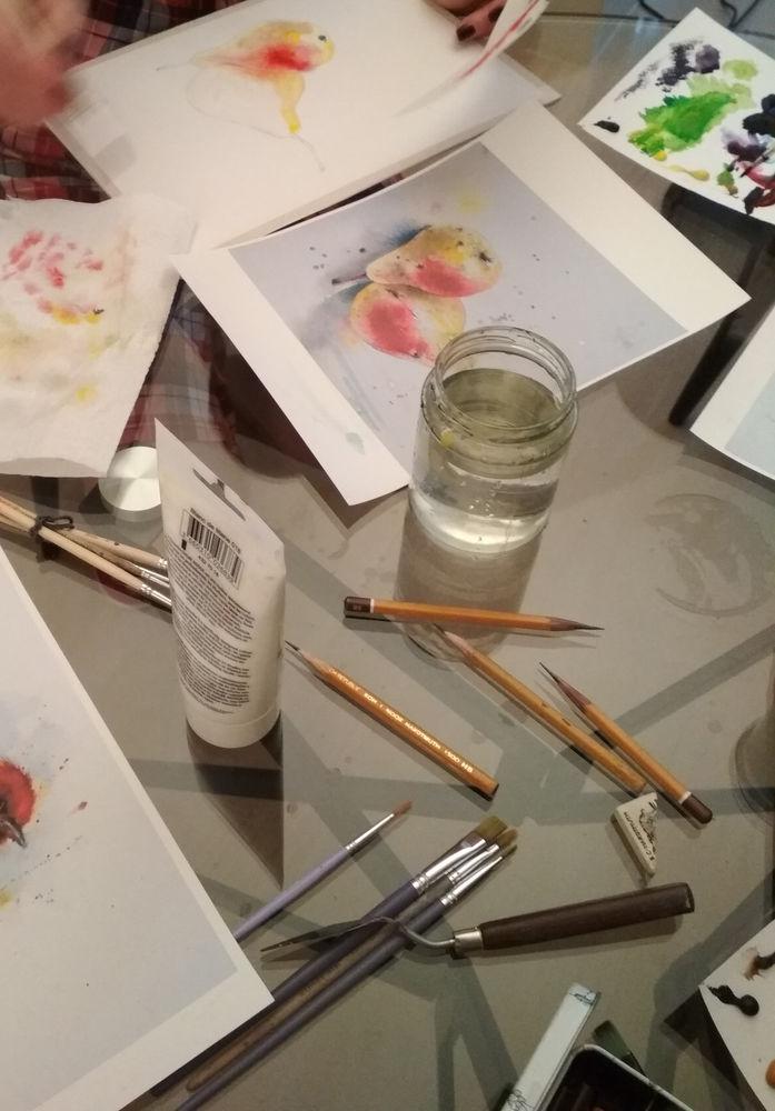 уроки рисования, мастер-класс для детей