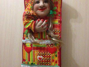 Кукла для туалетной комнаты | Ярмарка Мастеров - ручная работа, handmade