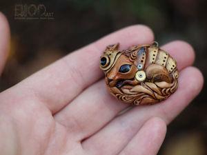 Вебинар от BiooArt : Лепим стимпанк лисичку из полимерной глины. Ярмарка Мастеров - ручная работа, handmade.