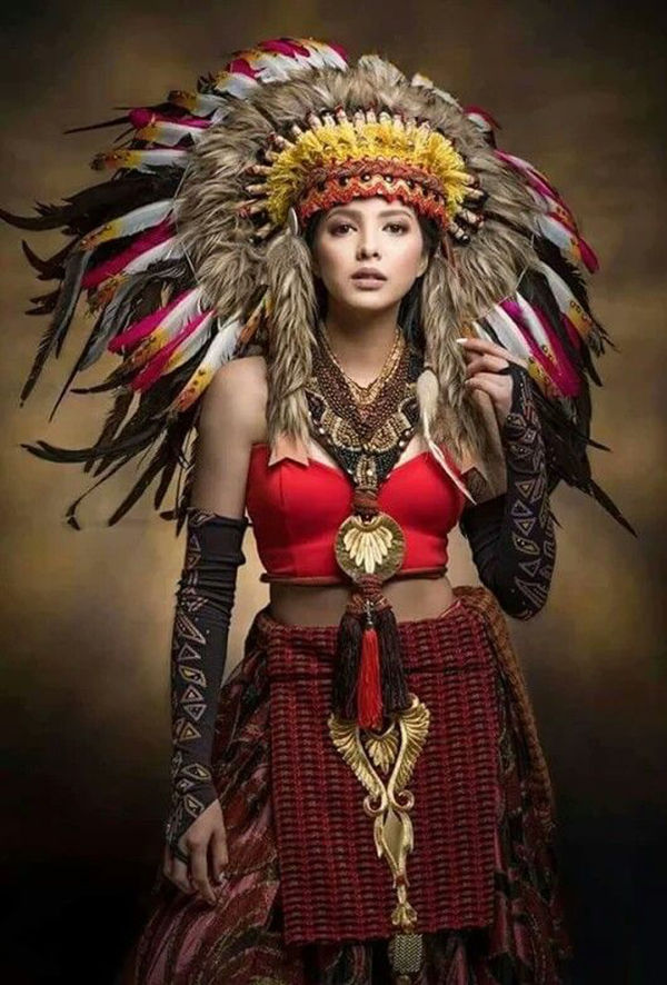 The Spirit Of The Prairie Creating A Look In The Indian Style  Журнал -2609