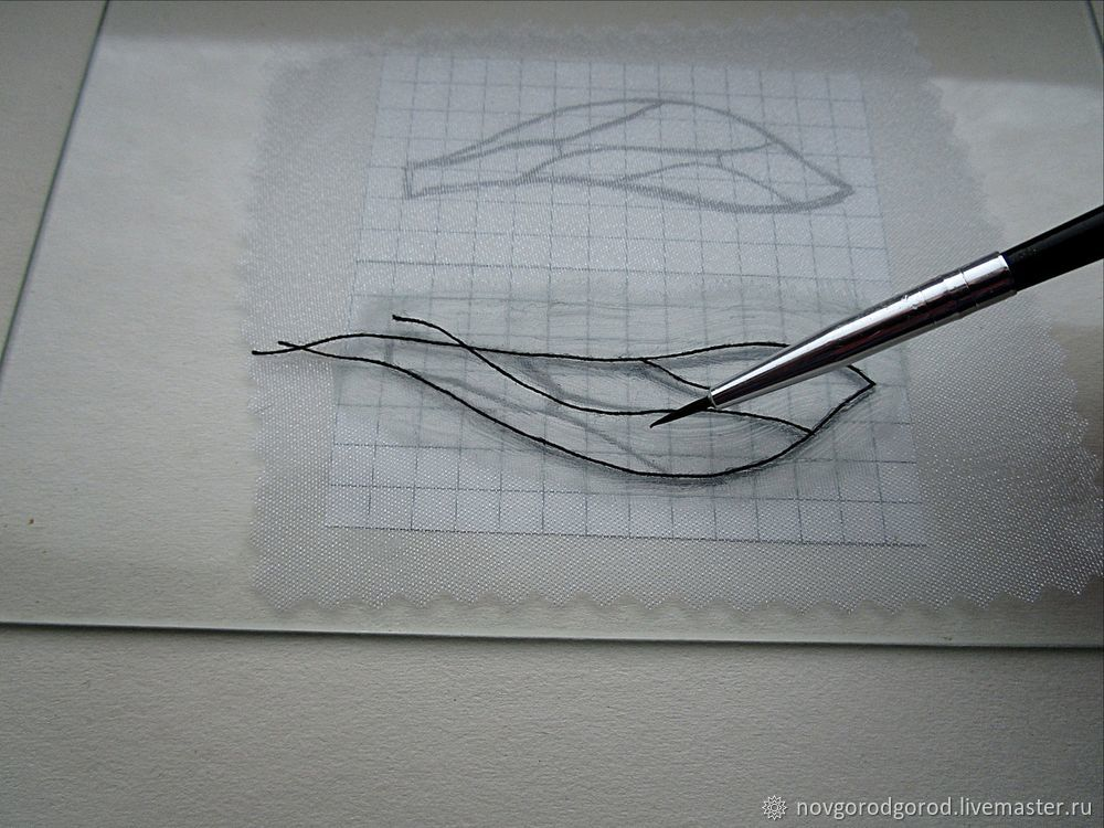 How to Make Insect Wings of Liquid Plastic, фото № 6