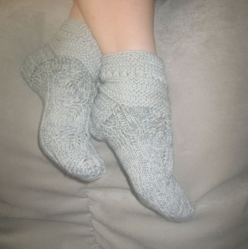 теплые вещи, носки спицами