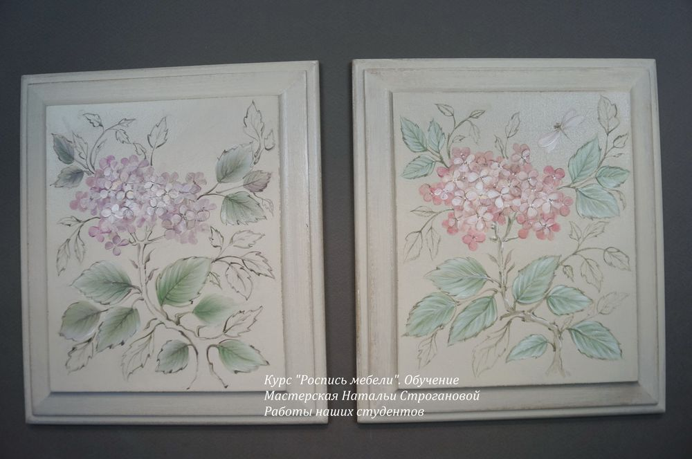 Техники росписи по мебели