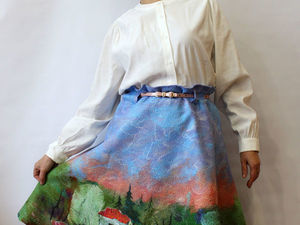 Новая роскошная юбка с пейзажем!!!!!. Ярмарка Мастеров - ручная работа, handmade.