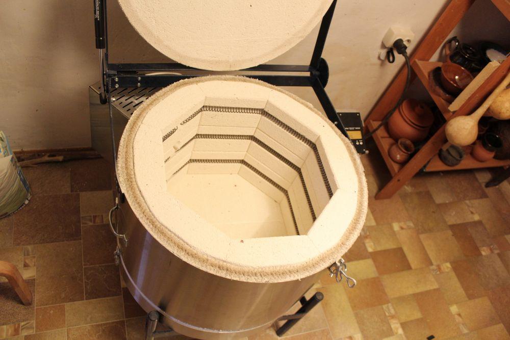 новая печь в мастерской, фото № 4