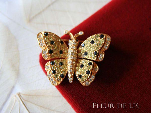CINER, бабочка - сверкающая малютка | Ярмарка Мастеров - ручная работа, handmade
