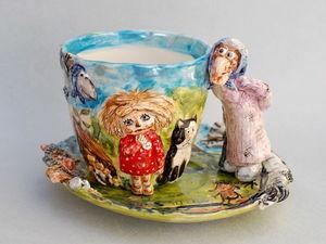 Чаепитие с сказкой.. Ярмарка Мастеров - ручная работа, handmade.