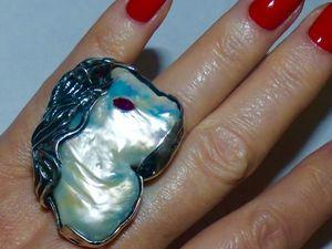 Новое серебряное кольцо ПОНИ. Ярмарка Мастеров - ручная работа, handmade.