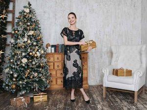 Романтичный Новый год?  Выбираем платье с вышивкой!. Ярмарка Мастеров - ручная работа, handmade.