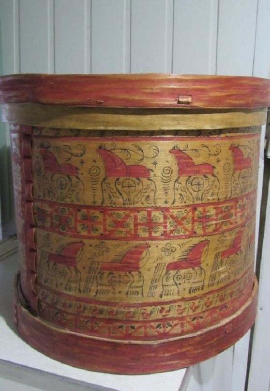 мезенская роспись, палащельская роспись