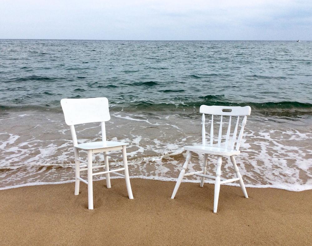 стул, белый