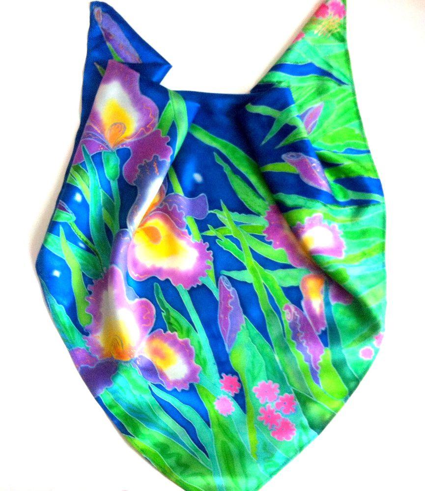 сорокина наталья, платок батик