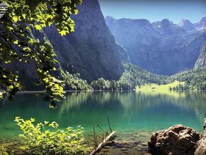 Волшебная красота горного озера Обер. Ярмарка Мастеров - ручная работа, handmade.