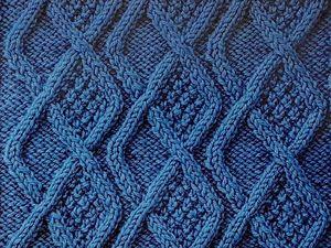 Японский узор для вязания спицами. Ярмарка Мастеров - ручная работа, handmade.