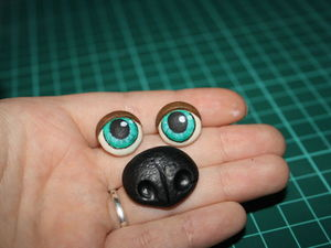 Как сделать глаз из полимерной глины 108