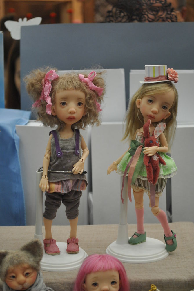 Международный салон кукол в Москве