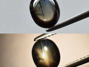 Черный сапфир 1,73ct. Ярмарка Мастеров - ручная работа, handmade.