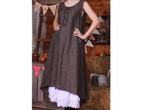 Принимаю заказы на юбки из льна.. Ярмарка Мастеров - ручная работа, handmade.
