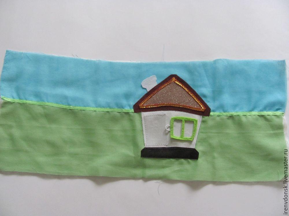 В подарок малышу: делаем развивающий коврик-трансформер. Часть 1, фото № 2