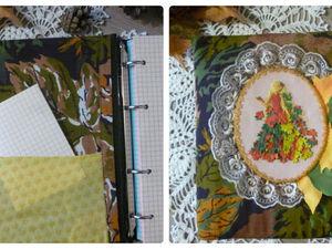 Создаем красивую осеннюю обложку для блокнота идей. Ярмарка Мастеров - ручная работа, handmade.