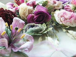 Летняя распродажа! СКИДКА 35% на цветы из шелка!. Ярмарка Мастеров - ручная работа, handmade.