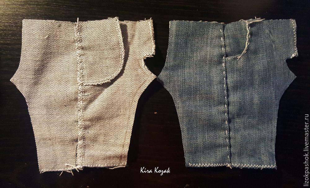 Как сделать рваную джинсовую юбку своими руками и выкройки 9