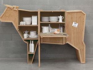 Креативная анималистическая деревянная мебель от итальянского дизайнера Marcantonio Raimondi Malerba. Ярмарка Мастеров - ручная работа, handmade.