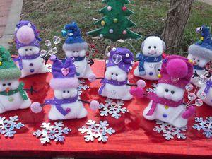 Раздаю снеговичков за символическую плату. | Ярмарка Мастеров - ручная работа, handmade
