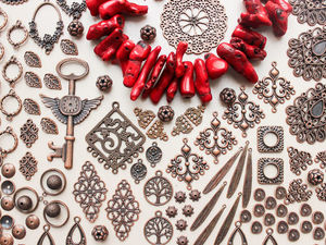 Розыгрыш нити коралла и набора фурнитуры.. Ярмарка Мастеров - ручная работа, handmade.