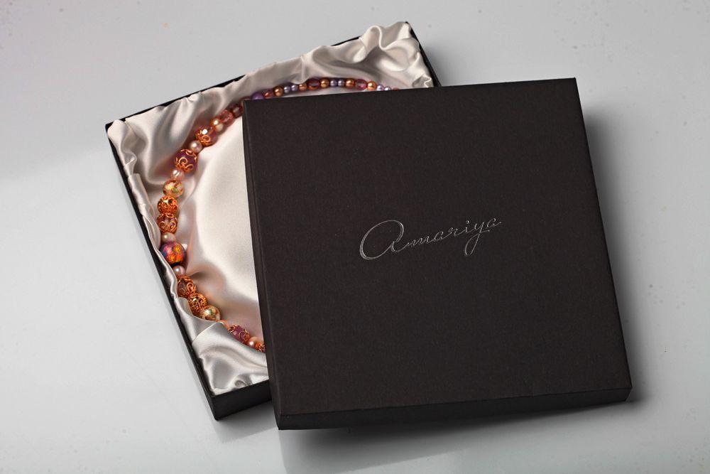 фирменная упаковка, коробочки с логотипом